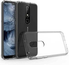 Nokia 6.1 Plus Back Cover Soft - Transparent