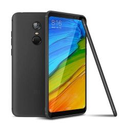 Redmi 5 Back Cover Soft - Black