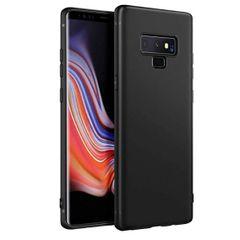Samsung Note 9 Back Cover Soft - Black