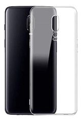 One Plus 6T Back Cover Soft - Transparent