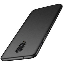 One Plus 6T Back Cover Soft - Black
