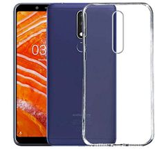 Nokia 3.1 Plus Back Cover Soft - Transparent