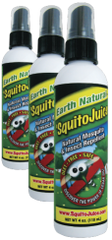 Personal-Size 'SquitoJuice - 3-PACK - Three 4 fl oz bottles