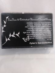 Organic Tea Tree and Activated Charcoal Facial Soap