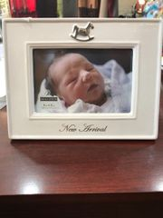 Rocking Horse 4x6 Baby Picture Frame