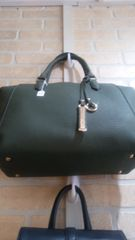 Handbag Olive Satchel with Strap