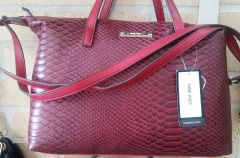 Handbag Red Satchel