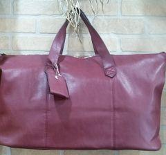Handbag Weekend Tote Burgundy