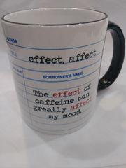 Fly Paper Effect Coffee Mug