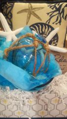 Gift Basket Glass Seashell
