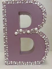 "Wall Hanging Wood Letter ""B"""
