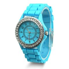 Watch - Silicone Light Blue