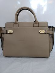 Handbag Satchel with Turnlock