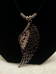 Jewelry Necklace Wing Silver