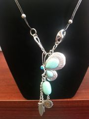 Jewelry Necklace Turquoise Collection Butterfly