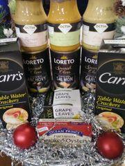 Gourmet Olive Gift Basket