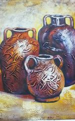 "Oil Painting ""Vases I"""