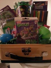 Gift Basket Teenage Mutant Ninja Turtles A