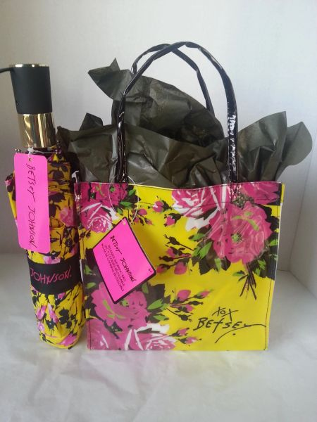 Betsey Johnson Umbrella Gift Basket Dylan S Unique Gifts