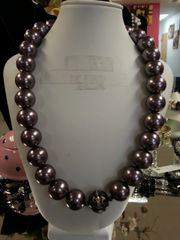 Jewelry Necklace - Purple Bead