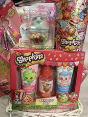 Gift Basket Shopkins Pink