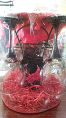 Gift Basket Wine Glasses & Carrier
