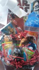 Gift Basket Star Wars with Spin Snack Canteen
