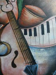 "Oil Painting ""Musical"""