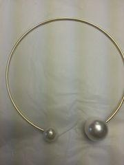 Jewelry Necklace Pearl Chocker