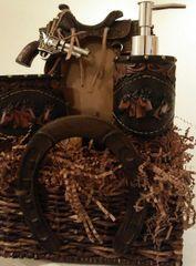Gift Basket Horseshoe