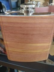 Flask Wooden Cover