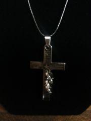 Jewelry Necklace Unisex Cross Pendant