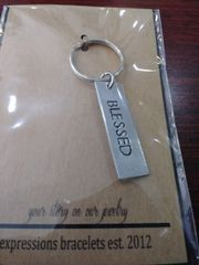 EB Blessed Tag Keychain
