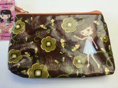 Recycled Plastic Cosmetic Bag Butterfly by Deco Delire