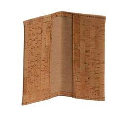 Be Organized Cork Checkbook Cover