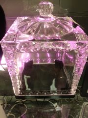 Wedding Crystal Photo Cube