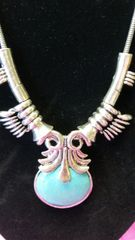 Jewelry Necklace Turquoise Spike