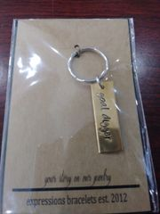 EB Metal Keychain Tag Stamp