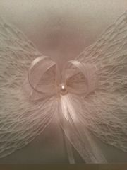 Wedding Ring Bearer Pillow with Lace