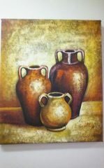 "Oil Painting ""Vases II"""