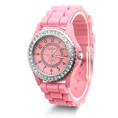 Watch - Silicone Pink