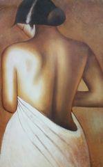 "Oil Painting ""Senorita"""