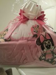 Gift Basket Baby Girl Minnie Mouse