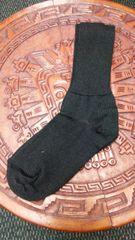 Black Baby Alpaca Socks