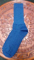 Blue Baby Alpaca Men's Socks