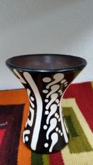 Handcrafted Ceramic Peruvian Vase Small Size