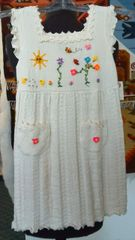 Pima Cotton Kids Dress with pockets and summer design