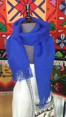 Alpaca Scarf, Blue