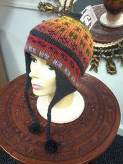 Alpaca Hat Hand Knit