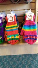 Handmade Fingerless Glove Mittens For Teens